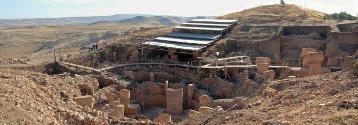 plan-gobekli-tepe fouilles turquie archeologie temple ancien
