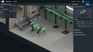 interface plateforme Rocos chien robot