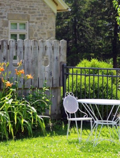 bénéfices santé bien-être du jardin privé