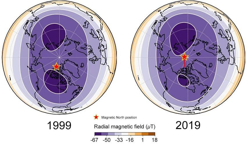 lobes magnetiques