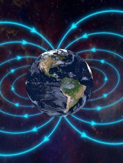 pole nord magnetique