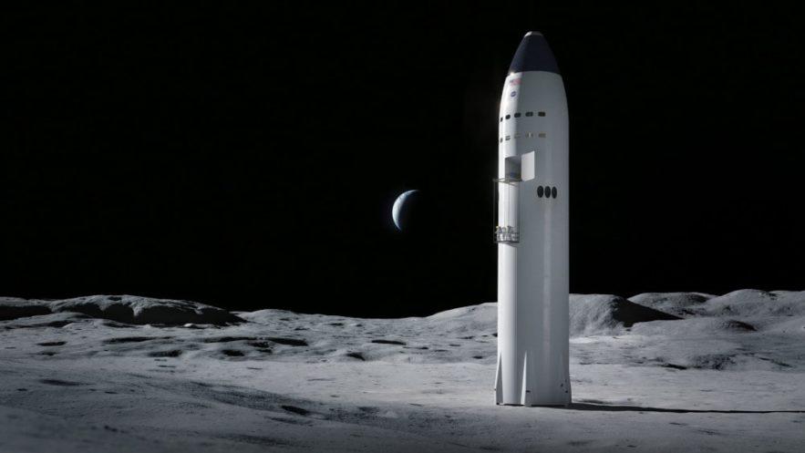 atterrisseur spaceX starship contrat programme artemis NASA