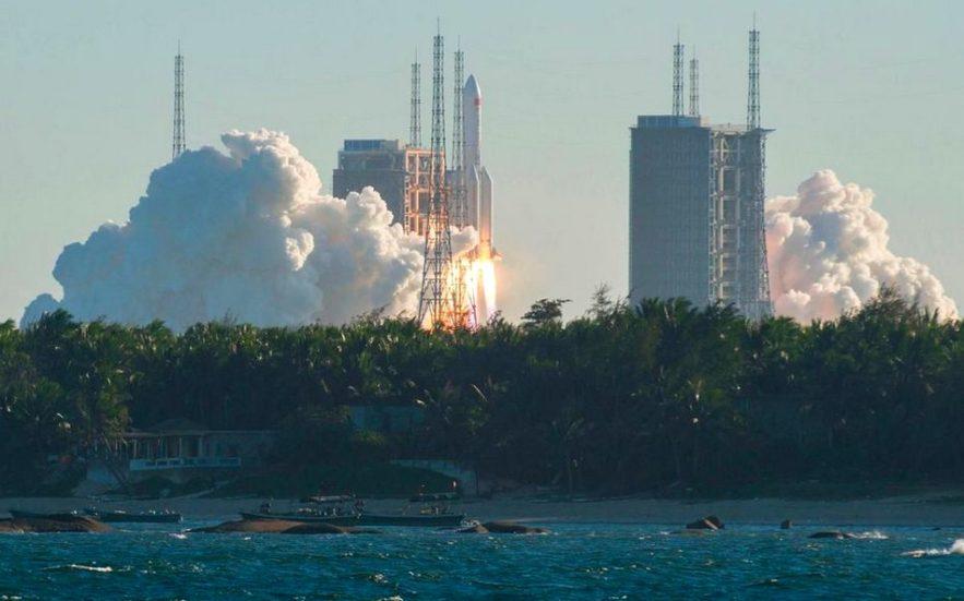 vaisseau spatial chinois station orbite terrestre basse