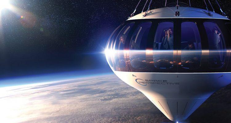tourisme spatial ballon space perspective