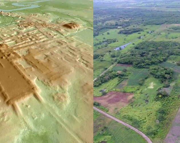 aguada fenix mexico mexique civilisation maya LIDAR