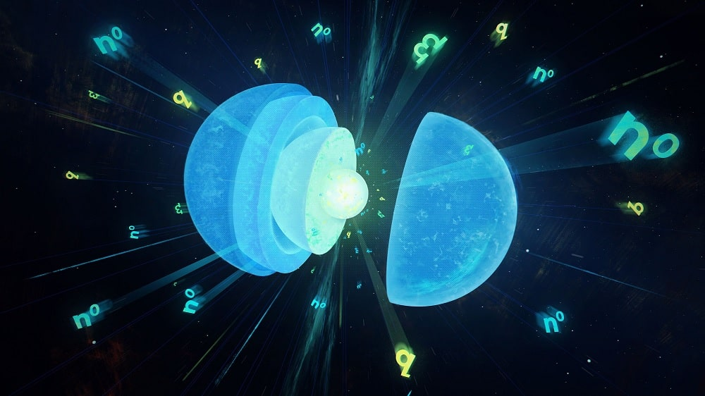 etoile neutrons quarks