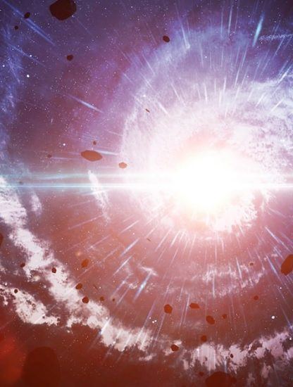 galaxies vide quantique