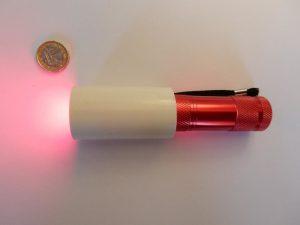 lampe led rouge amélioration vue