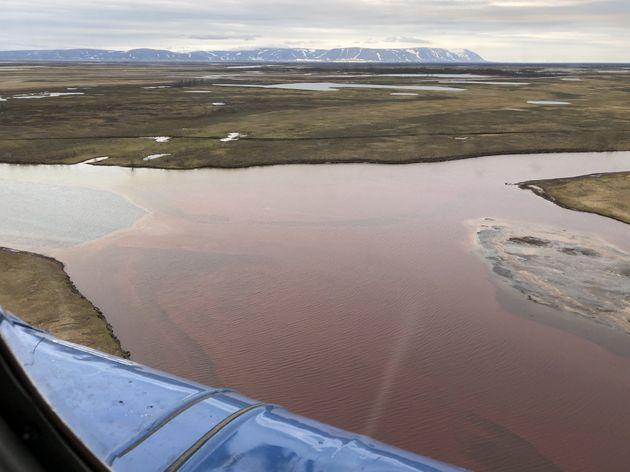 permafrost riviere russie siberie diesel
