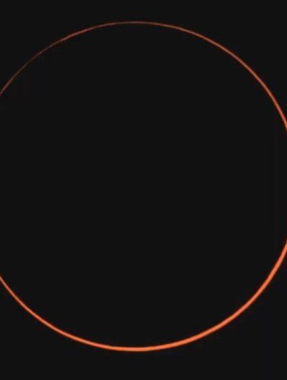 éclipse solaire annulaire juin 2020