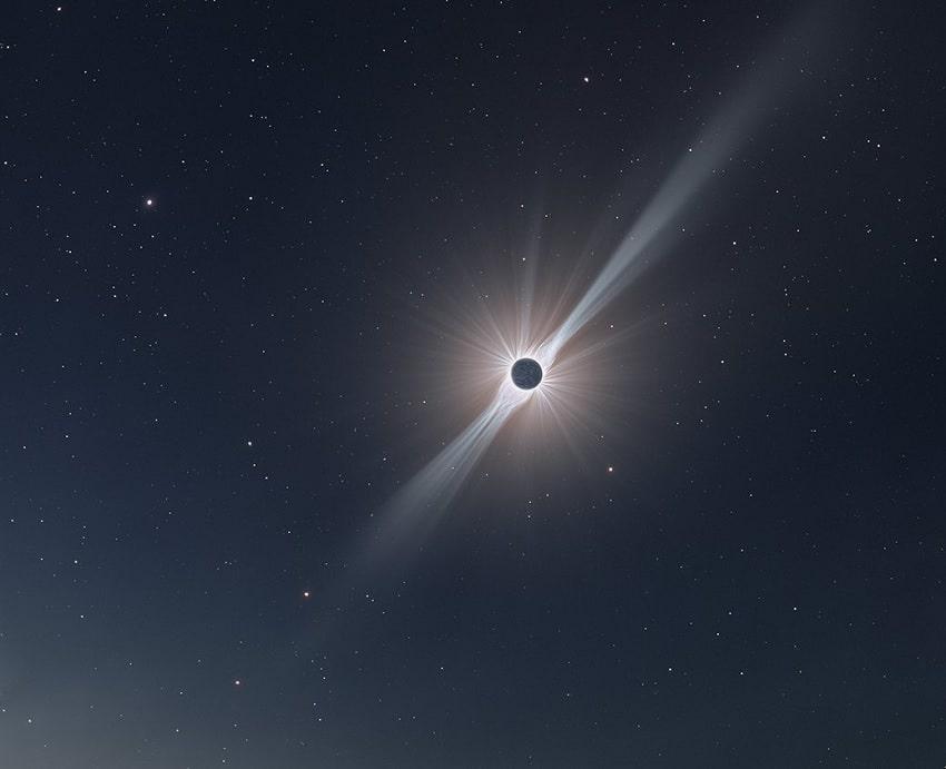 photo eclipse lunaire