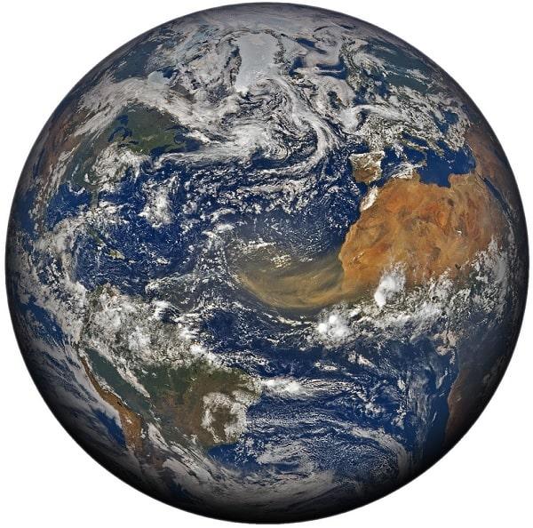 poussiere globe