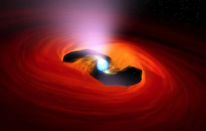 etoile neutron disque accretion explosion rayon x