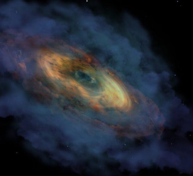 quasar univers jeune