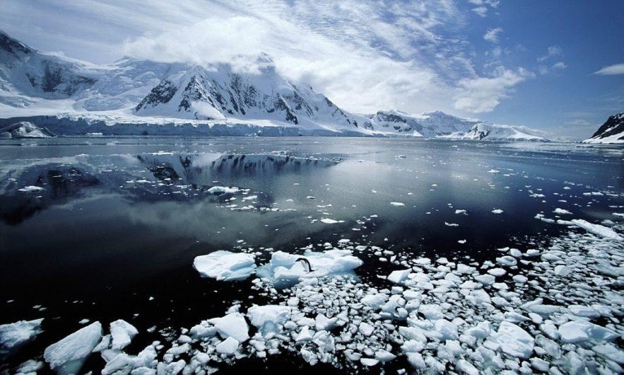 rechauffement antarctique