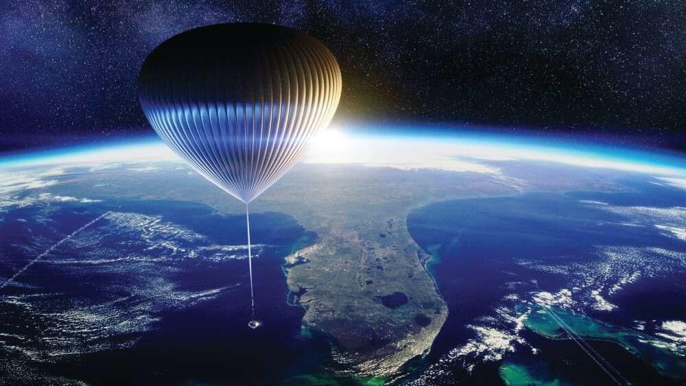ballon stratosphère tourisme spatial sciences