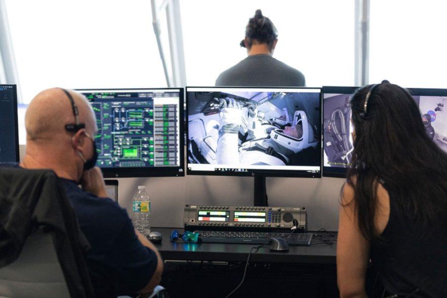 SpaceX Falcon Dragon OS Linux