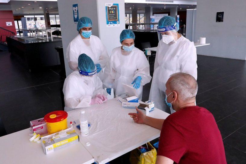 test bulgarie coronavirus covid-19 anticorps