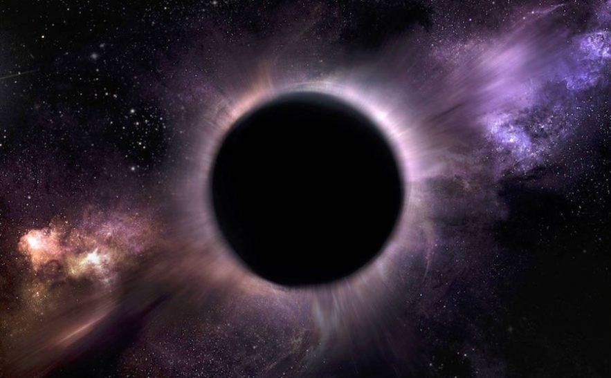 trou noir hologramme