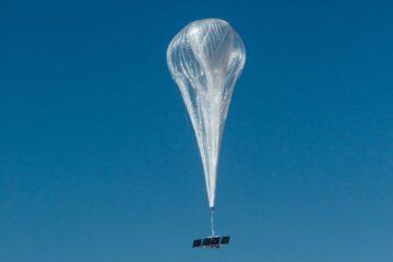 ballons stratosphériques connexion Internet