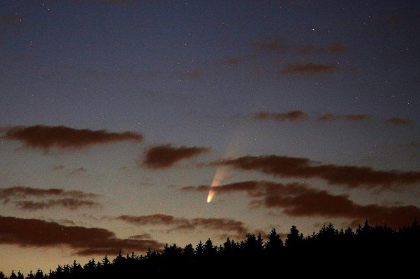 comète neowise suisse juillet 2020