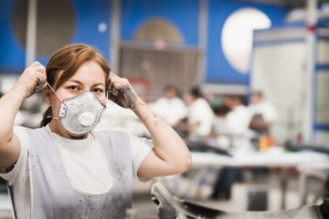 coronavirus masque efficacite tissus papier n95 n99