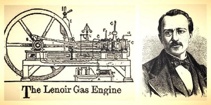 moteur explosion lenoir