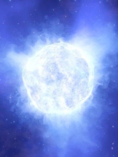 mystère disparition étoile massive