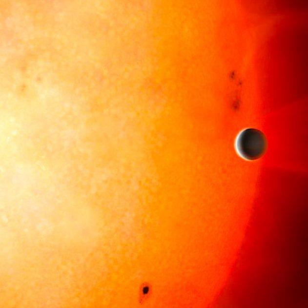 noyau planetaire decouvert repere etoile lointaine