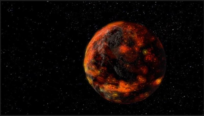 océan magma Lune