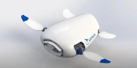 robot tortue nettoyage plastique océans