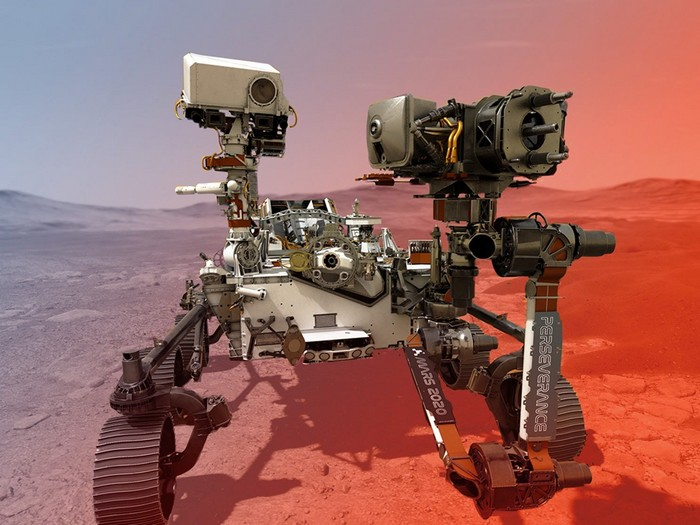 rover perseverance nasa mars planete rouge