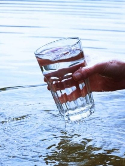 eau salee potable