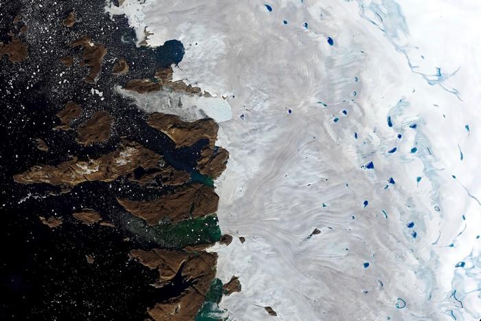 fonte glacier rechauffement climatique