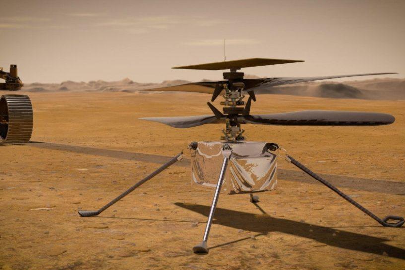 hélicoptère ingenuity exploration Mars NASA