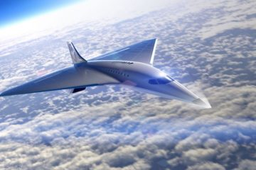 virgin galactic avion jet supersonique mach 3 concorde