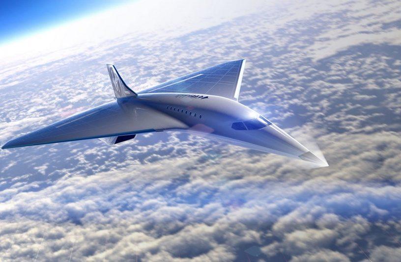 virgin galactic avion jet supersonique mach 3 concorde