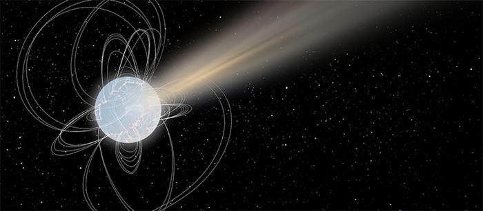 magnetar etoile neutron morte supernova detection sursaut radio rapide