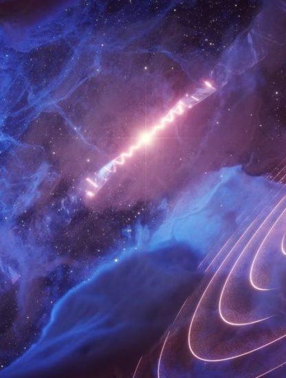 microquasar nuage