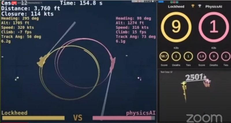 simulations combats aériens intelligences artificielles