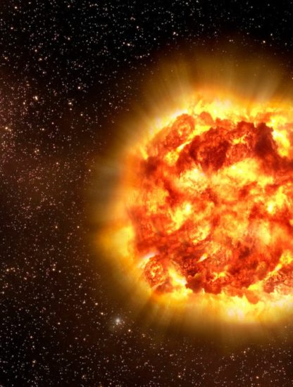 supernova cause extinction massive
