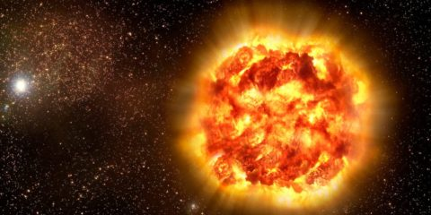 supernova cause extinction massive