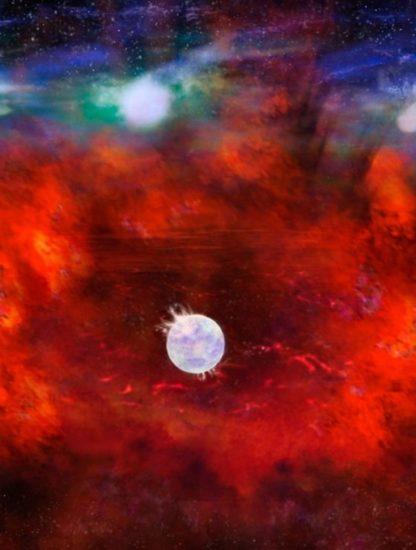 supernova sn1987a trou noir pulsar etoile neutron