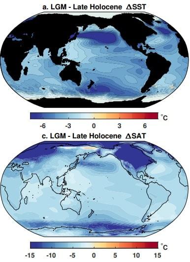 temperatures holocene