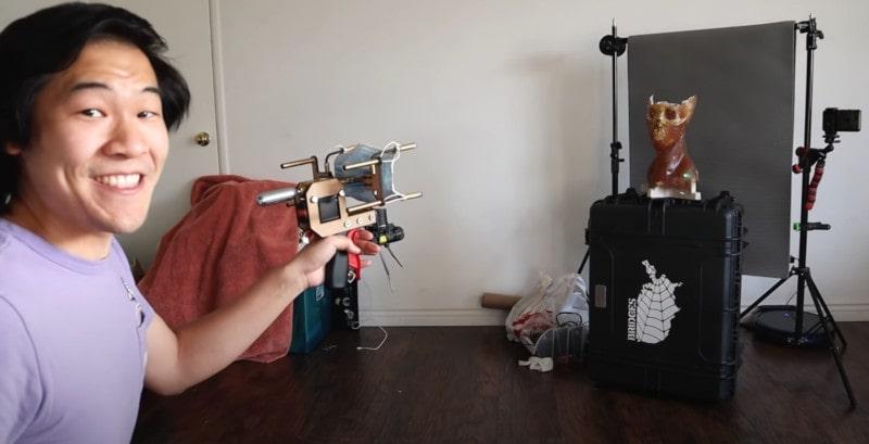 test pistolet masques