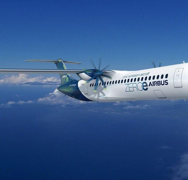 Airbus dévoile trois prototypes avions hydrogène vols zéro émission couv
