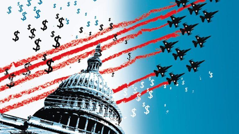 Pentagone utilise budget lutte pandémie financer entreprises militaires couv