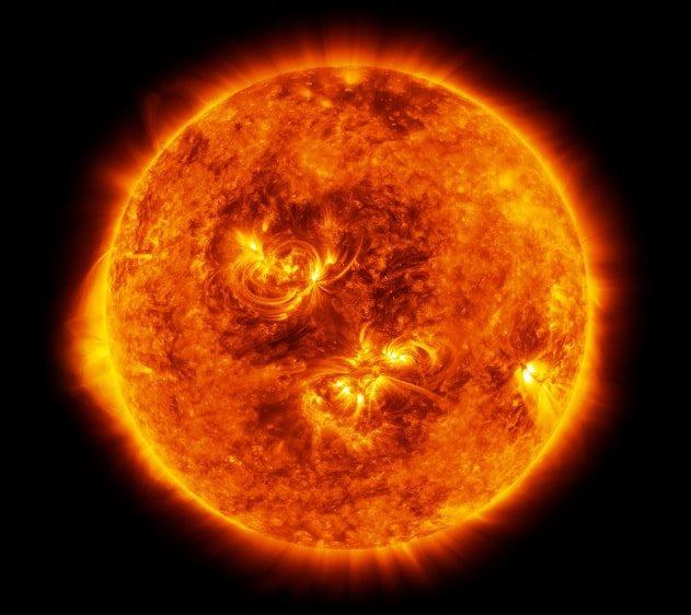 Soleil commence nouveau cycle solaire