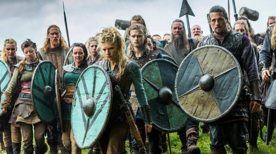 Vikings pas tous blonds scandinaves meurtriers révèle étude