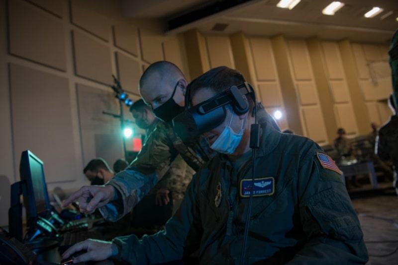 réalité virtuelle us air force